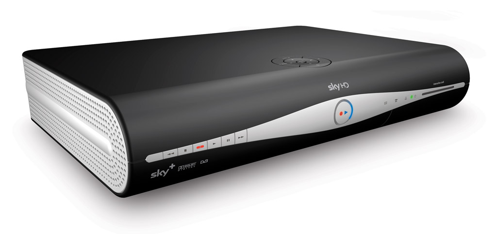 Image of a Sky HD box